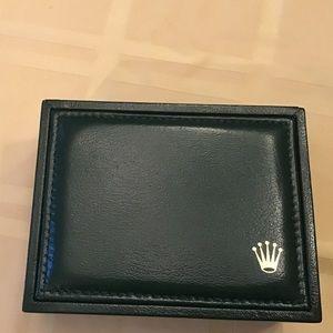 Authentic Rolex Box with Exterior Box, plus Cloth